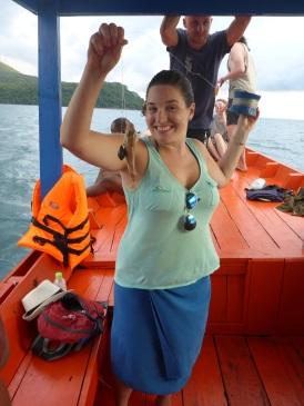 I caught a fish!